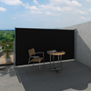"""Picture of Patio Terrace Side Awning 63""""x118"""" Black"""
