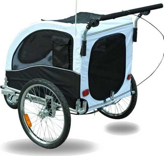 Picture of Pet Dog Bike Bicycle Elite II Trailer Stroller Jogger with Suspension