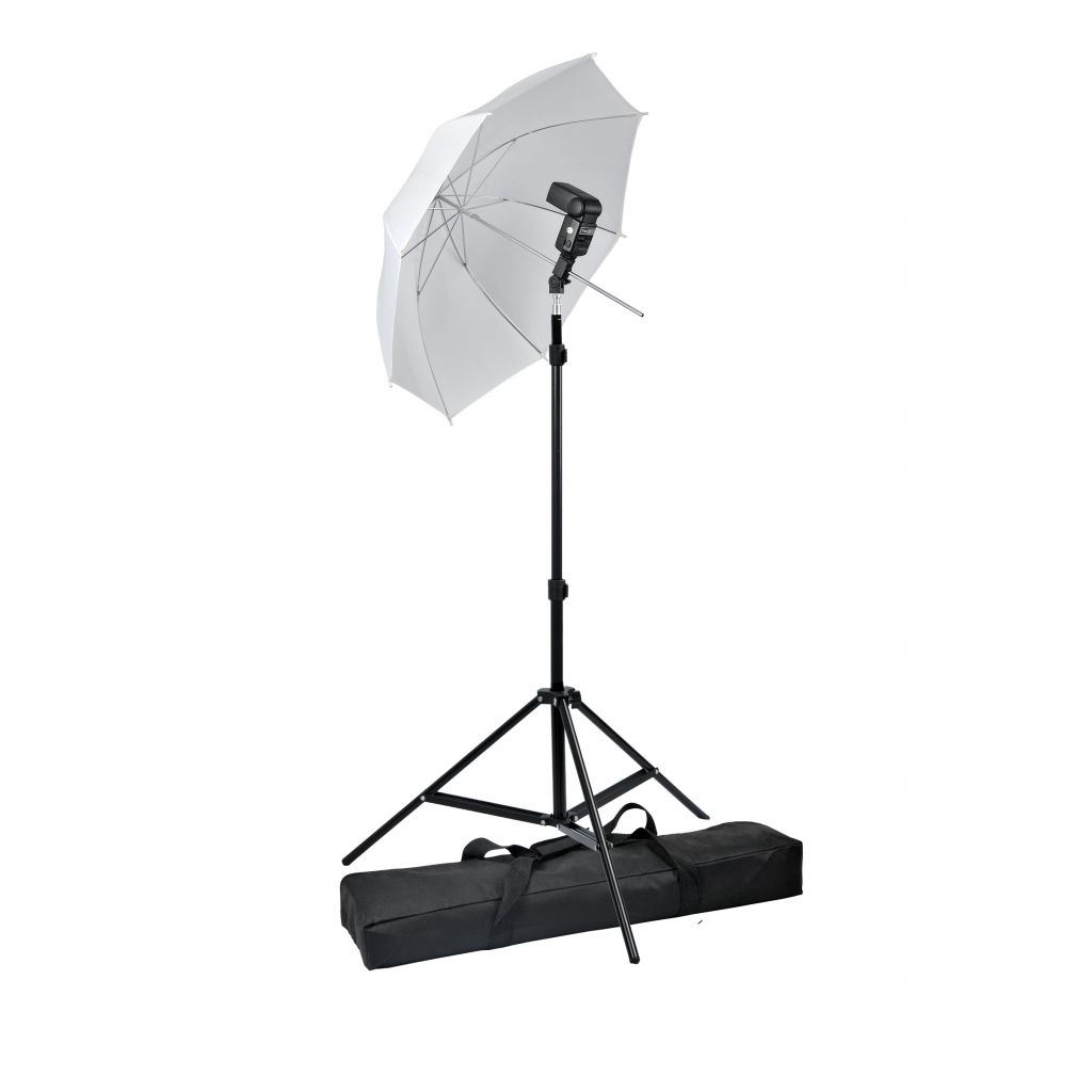 Picture of Photo Studio Photography Umbrella Flash Mount Portable Speedlight Set