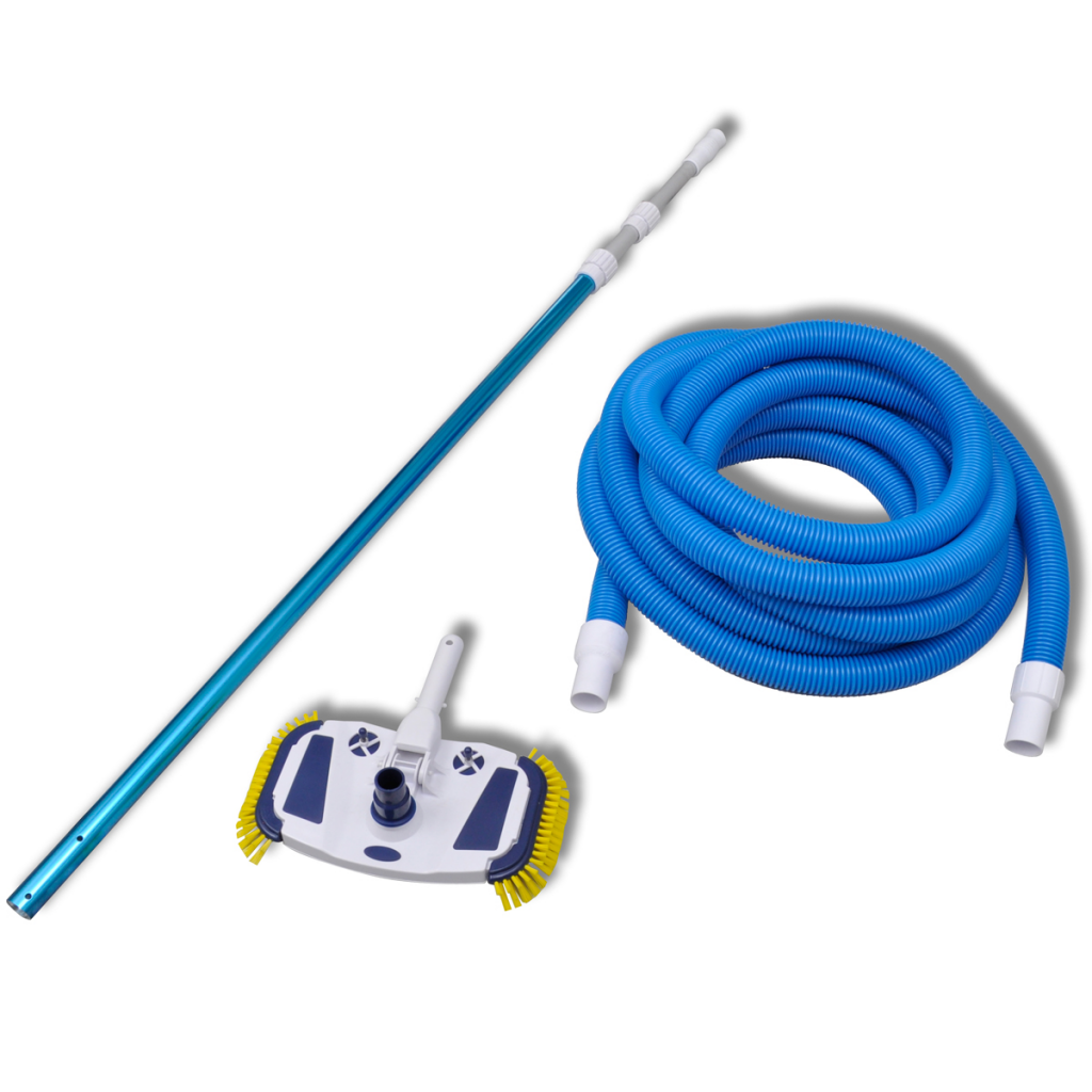 Picture of Pool Cleaning Tool Vacuum with Telescopic Pole and Hose