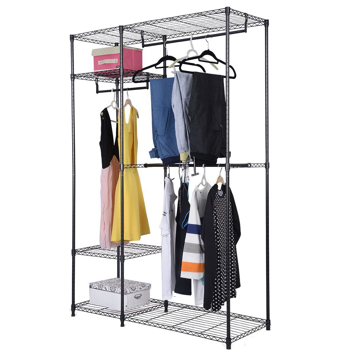 Picture of Portable Clothes Closet Organizer - 48""
