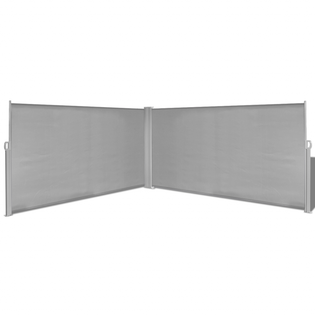 """Picture of Retractable Side Awning 63""""x236"""" Gray"""