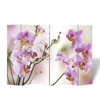 Picture of Room Divider Folding Double Sided Screen Flower Print 94 x 70 - 6-Panel