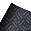 Picture of Rubber Floor Mat Anti-Slip 16' x 3' Checker Plate