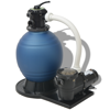 Picture of Sand Filter with Pool Pump 18 inch 1 HP 4740 GPH