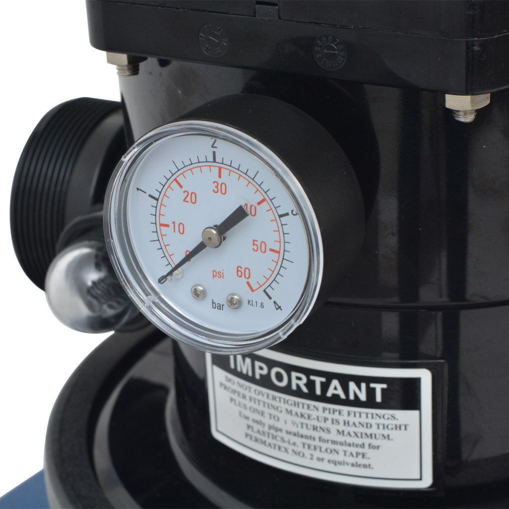 Picture of Sand Filter with Pool Pump 22 inch 1.5 HP 5280 GPH