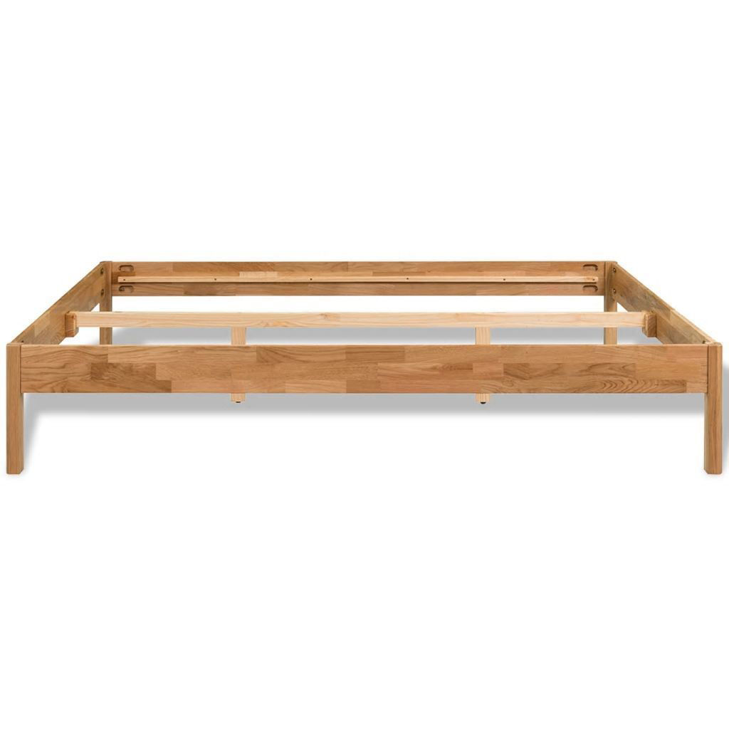Picture of Solid Oak Bed Frame 70 x 78 Natural