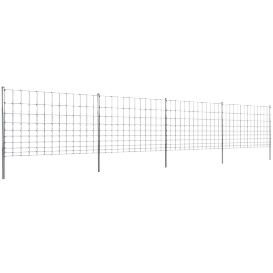 Picture of Step-In Fence 164' with Posts Galvanized Wire Fence 120/10/30