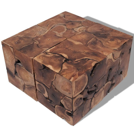Picture of Stools Coffee Table Solid Teak