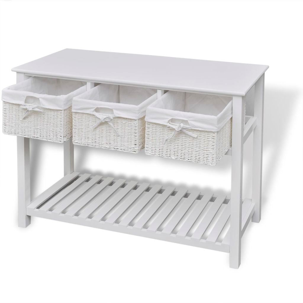 Picture of Storage Sideboard White