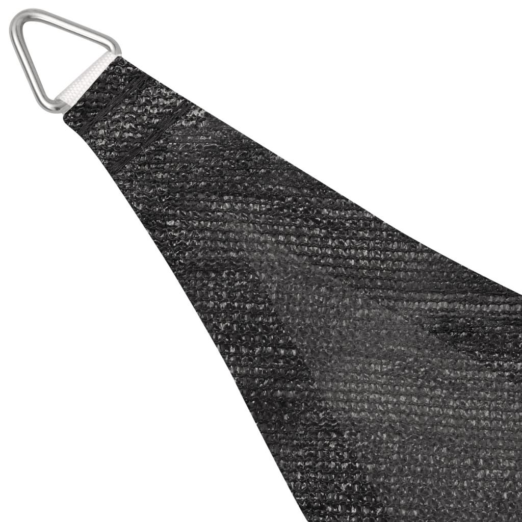 Picture of Sunshade Sail HDPE Triangular 16.4'x16.4'x16.4' Anthracite