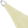 Picture of Sunshade Sail HDPE Triangular 16.4'x16.4'x16.4' Cream