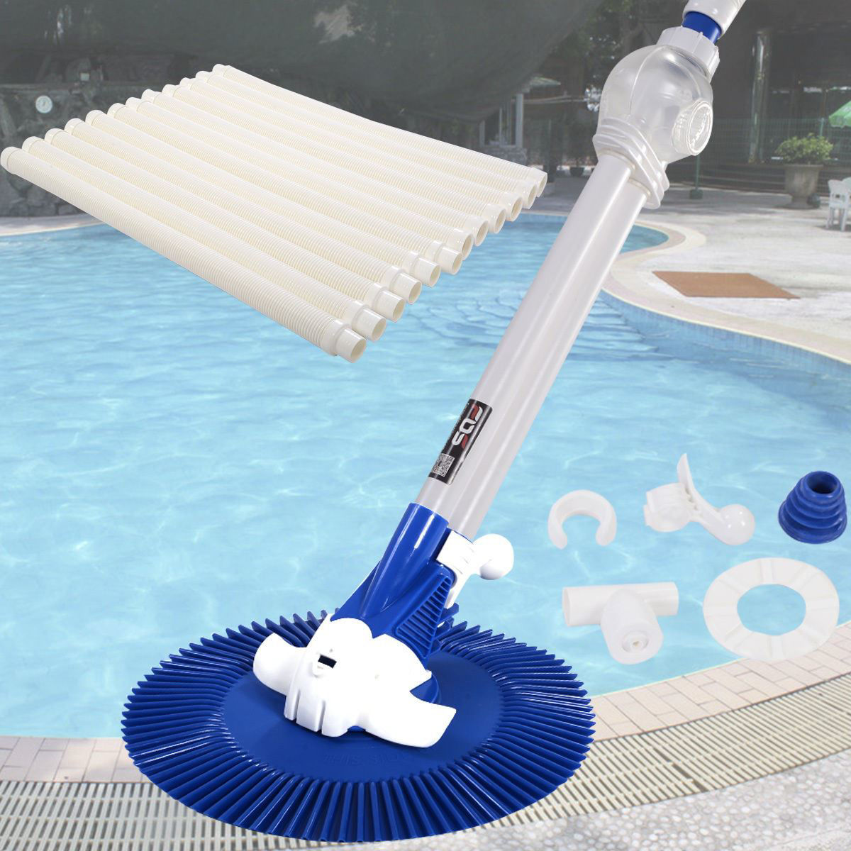 Picture of Swimming Pool Vacuum Cleaner Automatic Inground Above Ground
