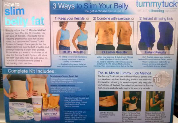 Picture of Tummy Tuck Miracle Slimming System - Size 3