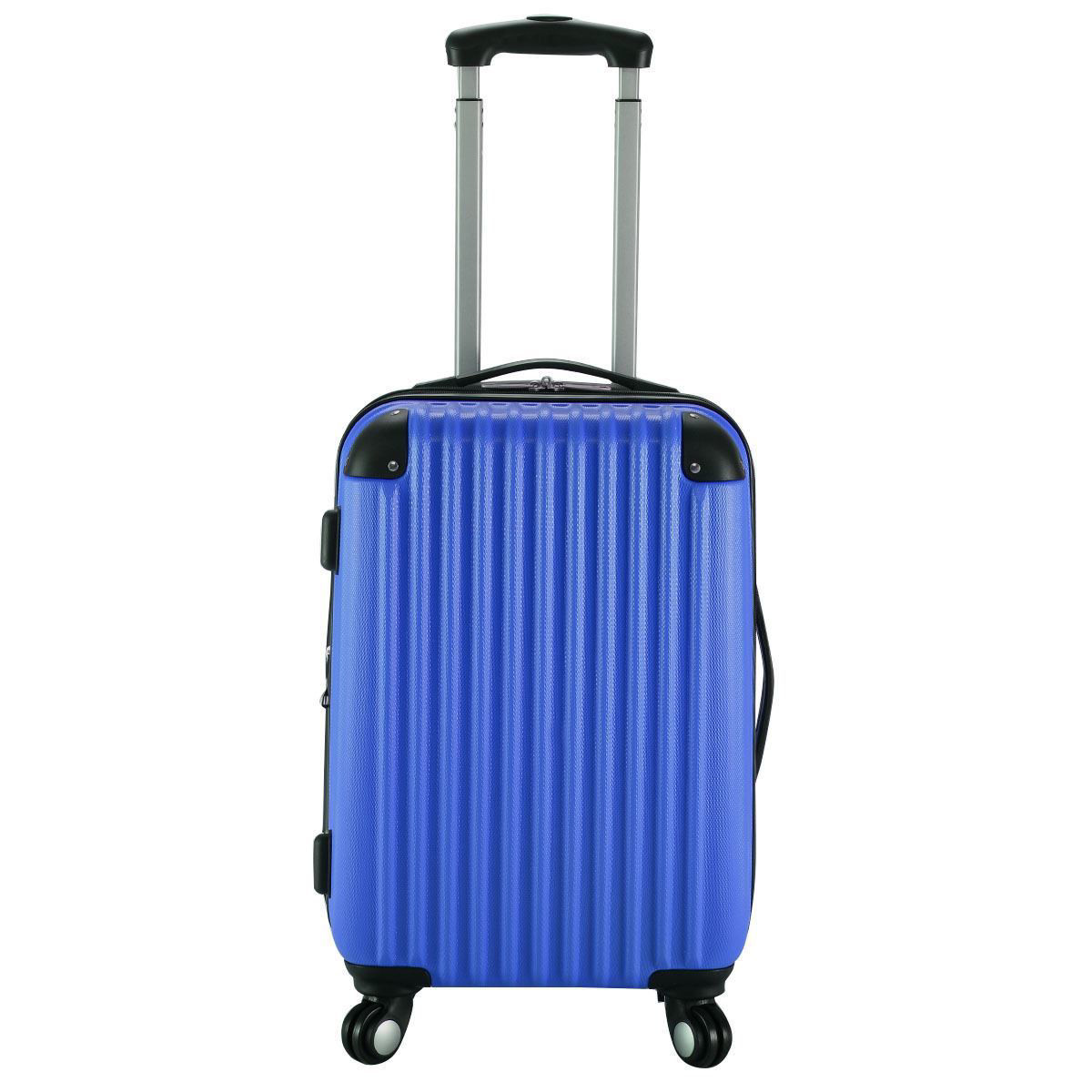 """Picture of Trolley Suitcase Expandable - 20"""" Navy"""