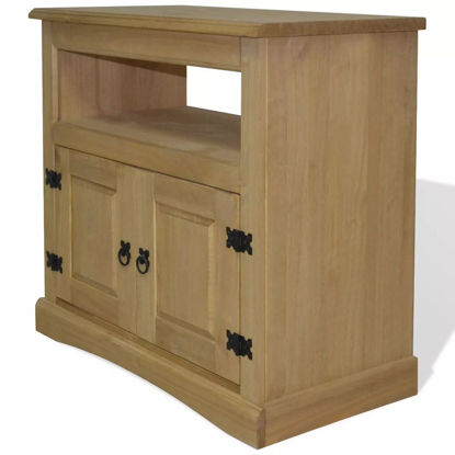 """Picture of TV Cabinet 31"""" - Mexican Pine Corona Range"""
