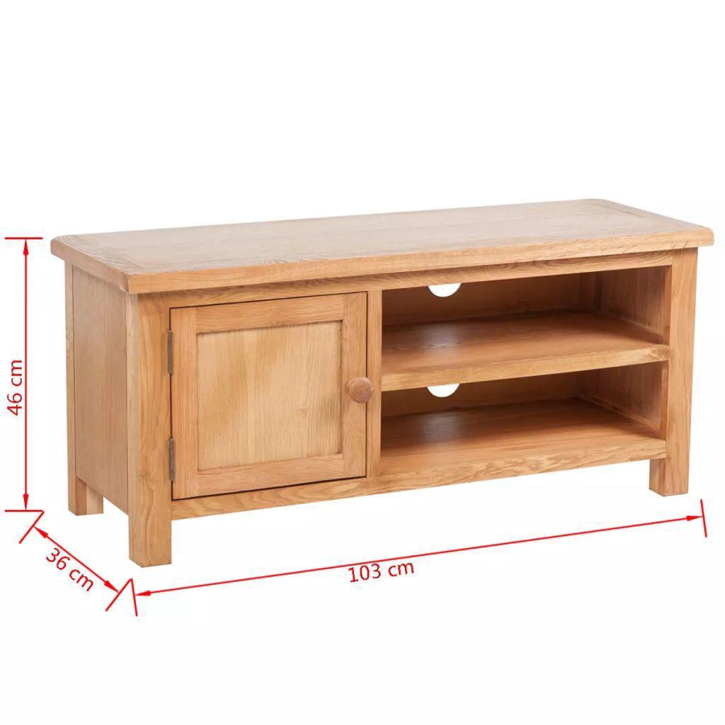 "Picture of TV Cabinet 40"" - Oak"