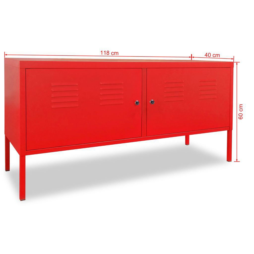 "Picture of TV Cabinet 46"" - Red"