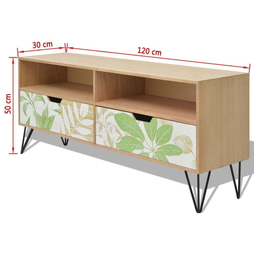 """Picture of TV Cabinet MDF 47"""" - Brown"""