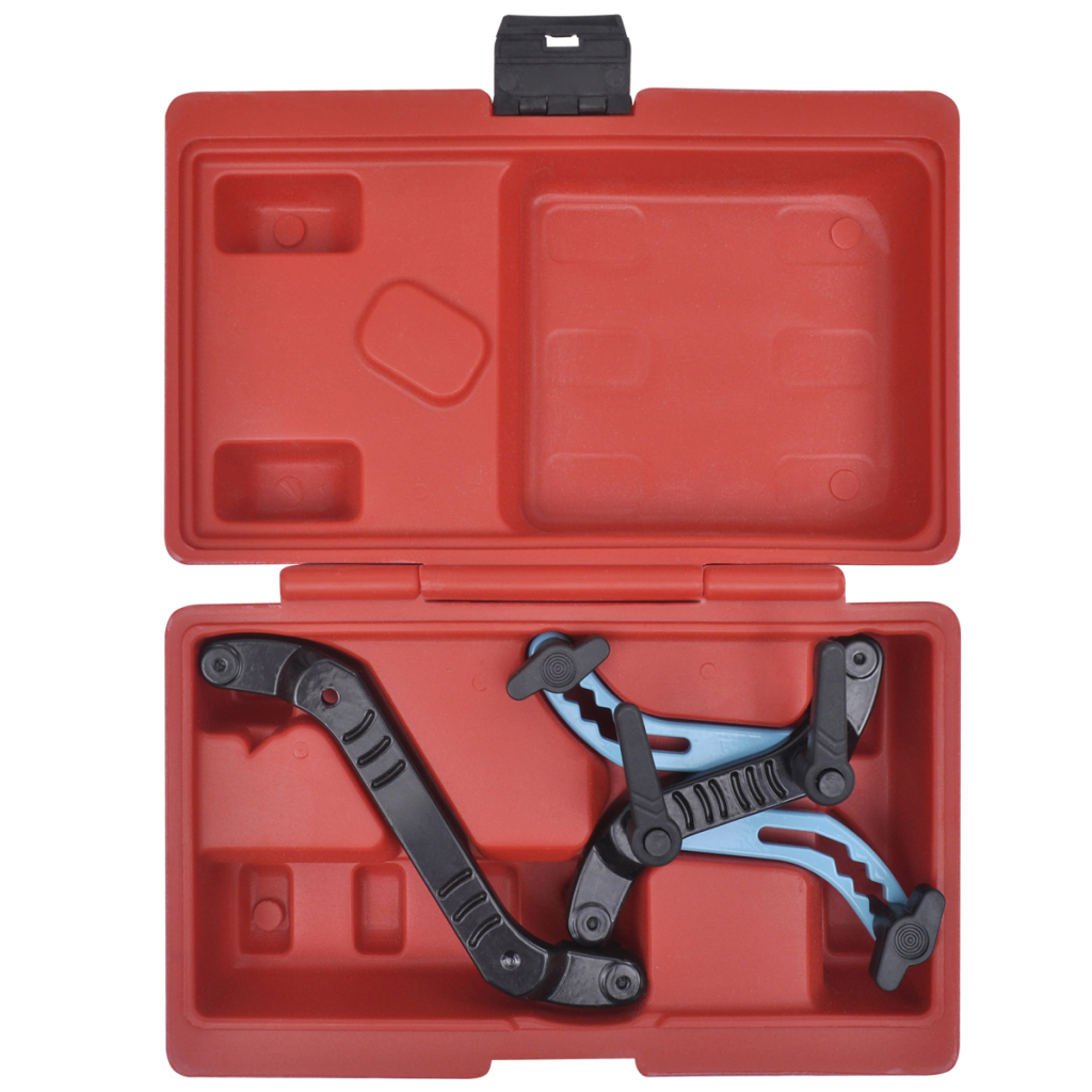 Picture of Universal Car Twin Camshaft Locking Tool Set Cam Engine Timing Sprocket Gear Kit