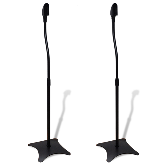 Picture of Universal Home Surround Sound Floor Speaker Stand 2 pcs - Black