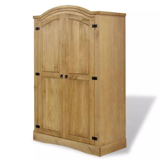 Picture of Wardrobe Mexican Pine Corona Range 2 Doors