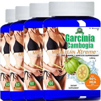 Picture of Weight Loss Fat Burner Cambogia - 4 Bottles