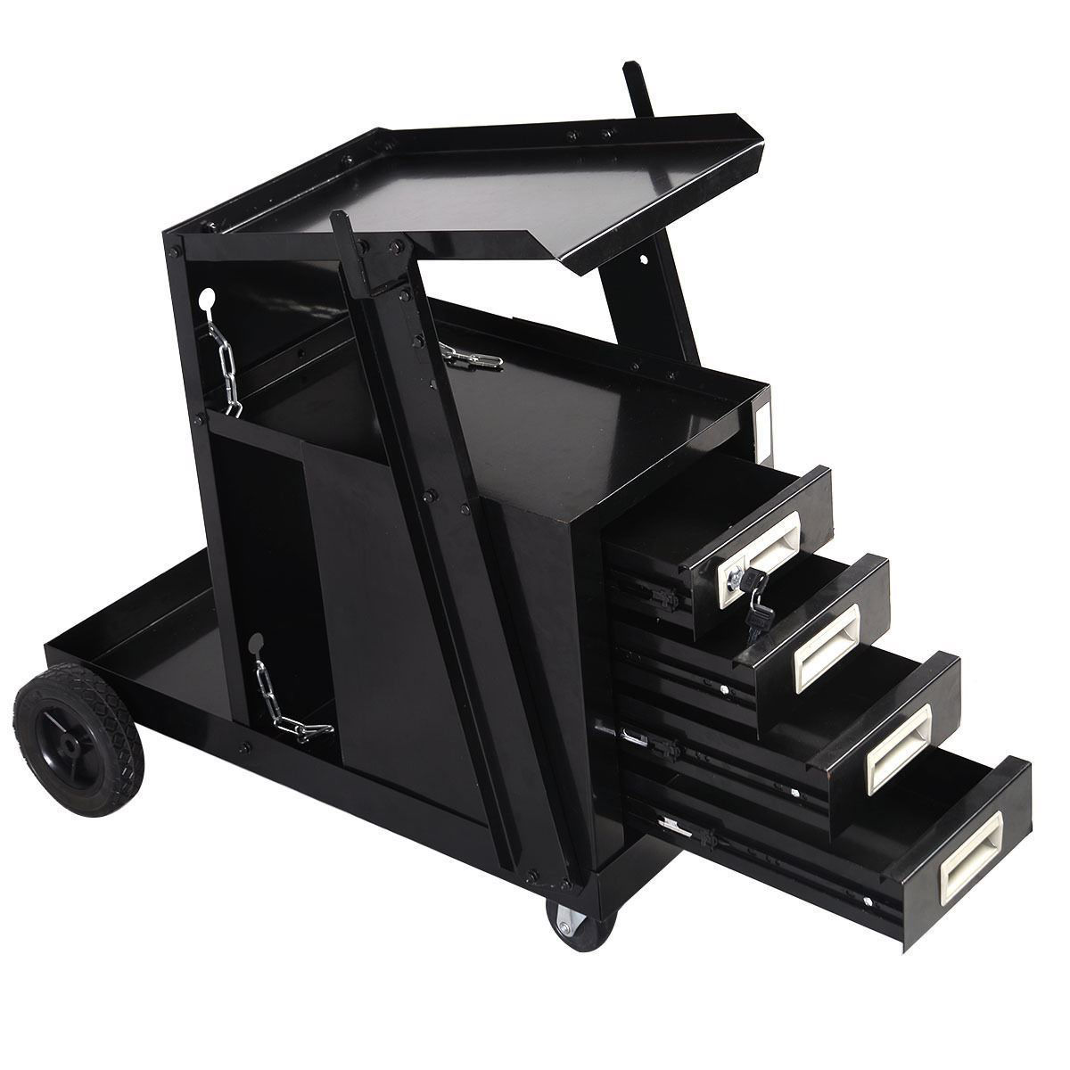 Picture of Welding Cart with 4 Drawers