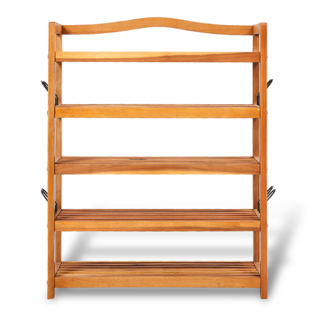 Picture of Wooden 5-tier Shoe Shelf