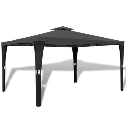 Picture of Outdoor 10' x 13' Gazebo - Dark Grey