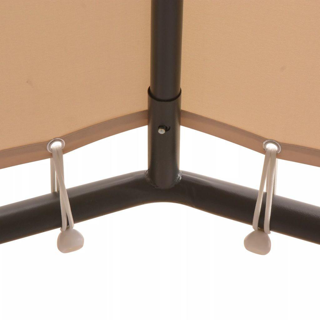 Picture of Outdoor 13' x 13' Gazebo - Steel Beige