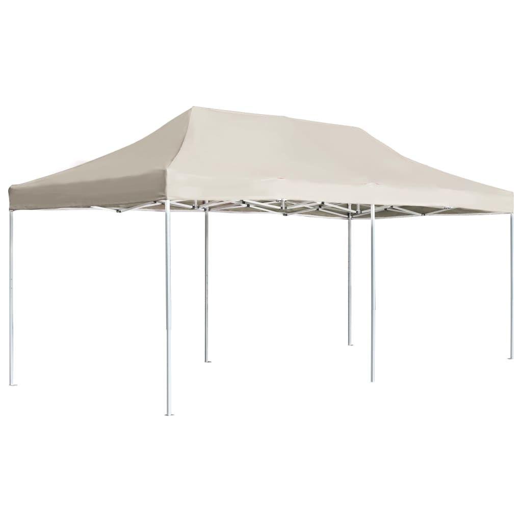 Picture of Outdoor Folding Aluminum Gazebo Tent - Cream