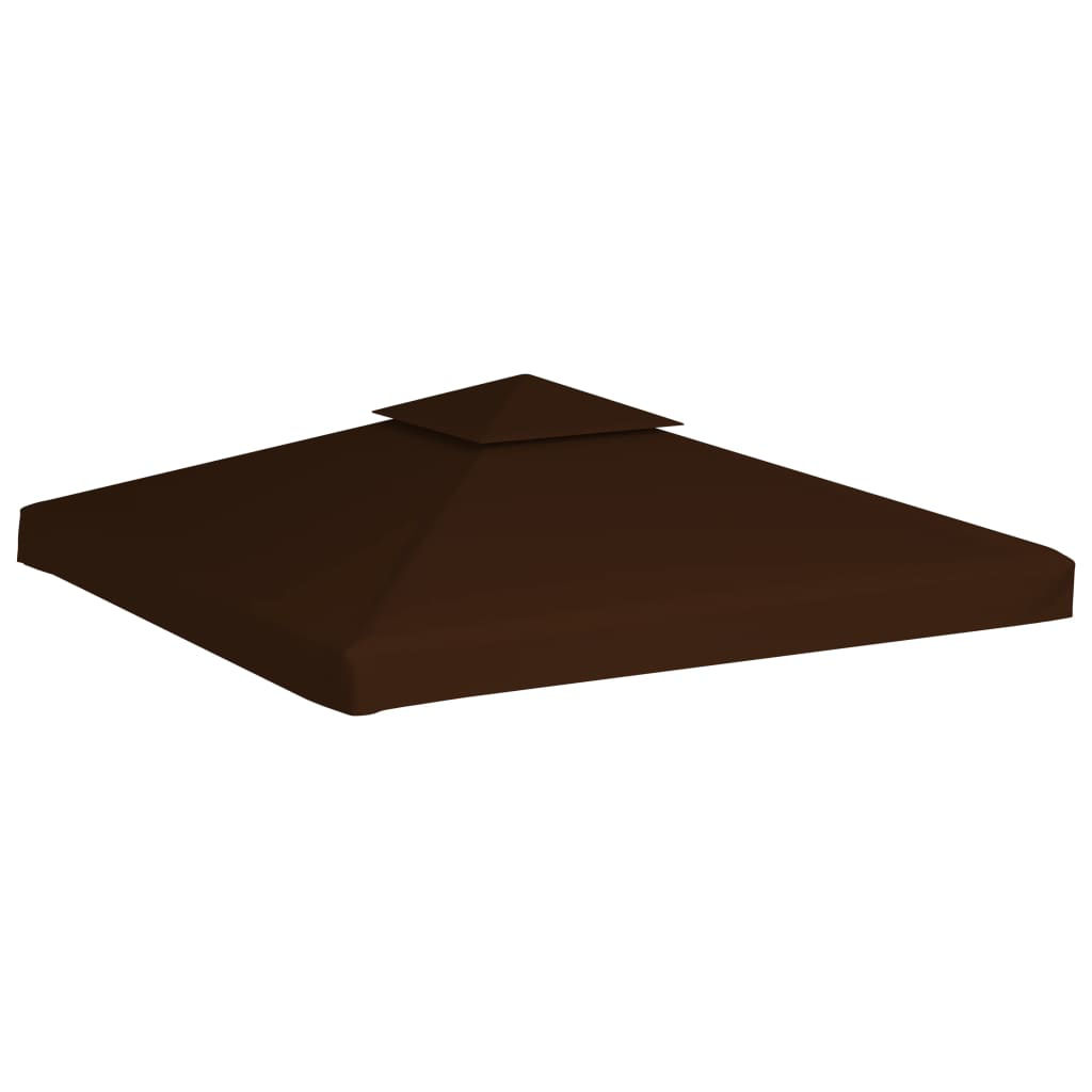 Picture of Outdoor Gazebo Top Replacement - 2-Tier Brown