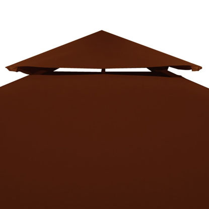 Picture of Outdoor Gazebo Top Replacement - 2-Tier Terracotta