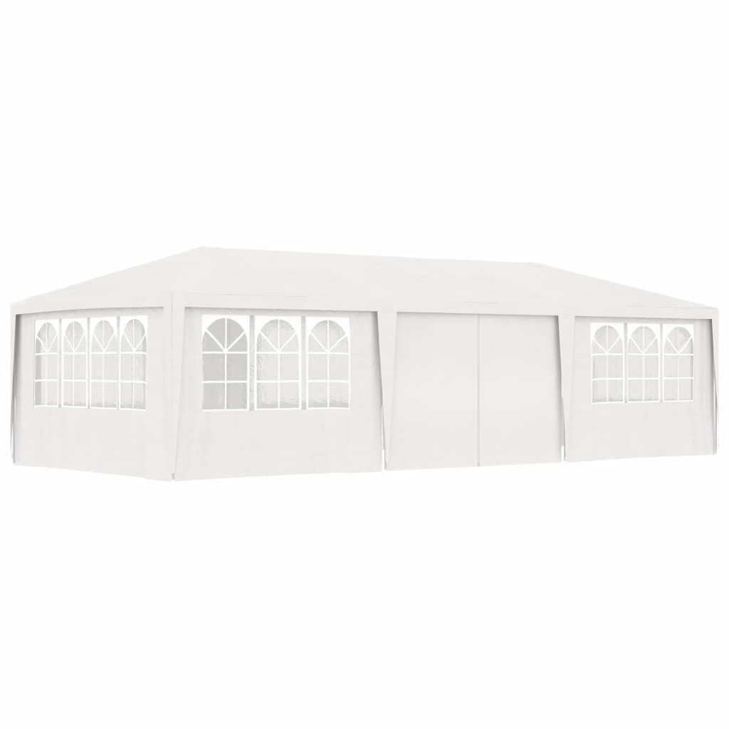 Picture of Outdoor Gazebo Tent with Side Walls - White