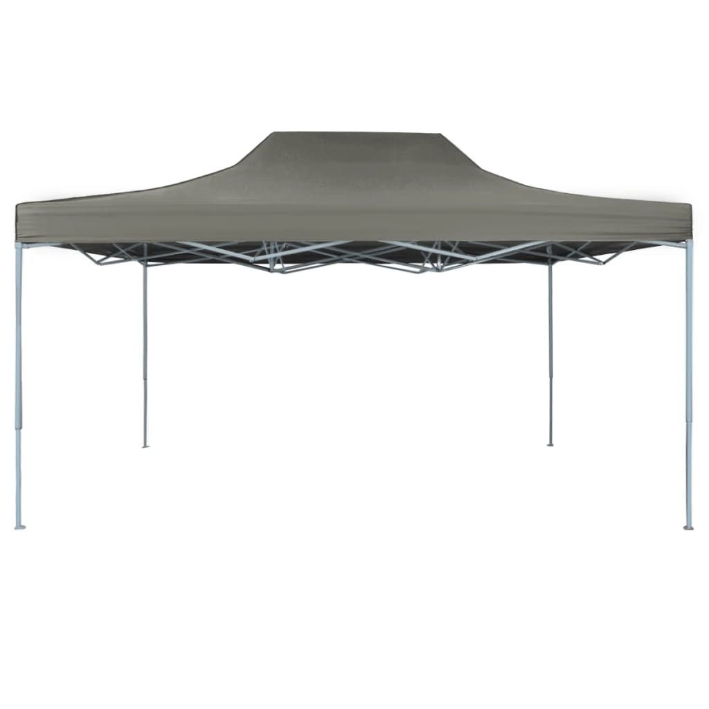 Picture of Outdoor Steel Gazebo Folding Party Tent - Anthracite