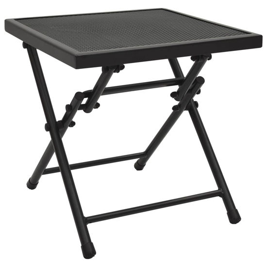 "Picture of Outdoor Folding Table 15"" - Anthracite"
