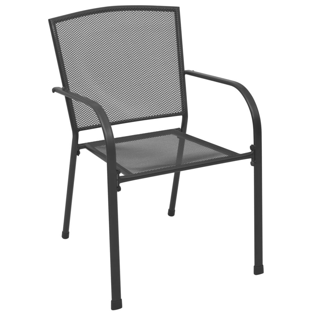 Picture of Outdoor Chairs Mesh Anthracite - 4 pc