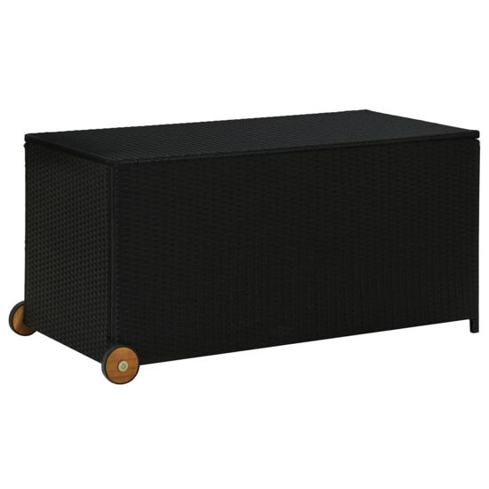 "Picture of Outdoor Storage Box 51"" Black"