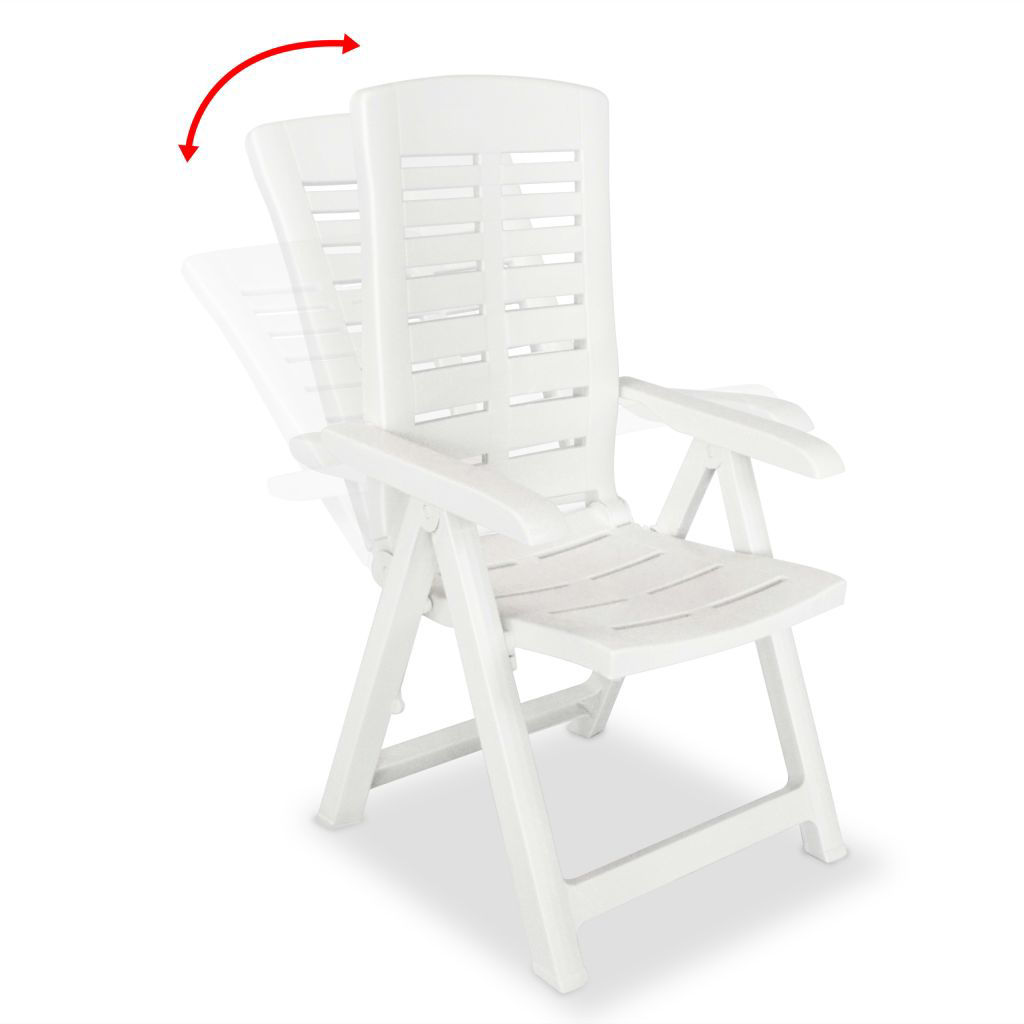Picture of Outdoor Dining Set - White