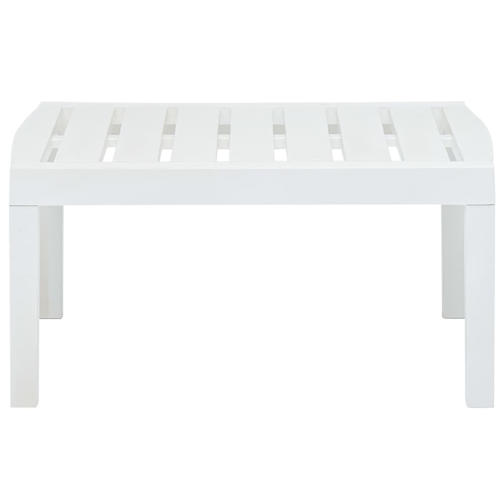 "Picture of Outdoor Lounge Table 30"" - White"