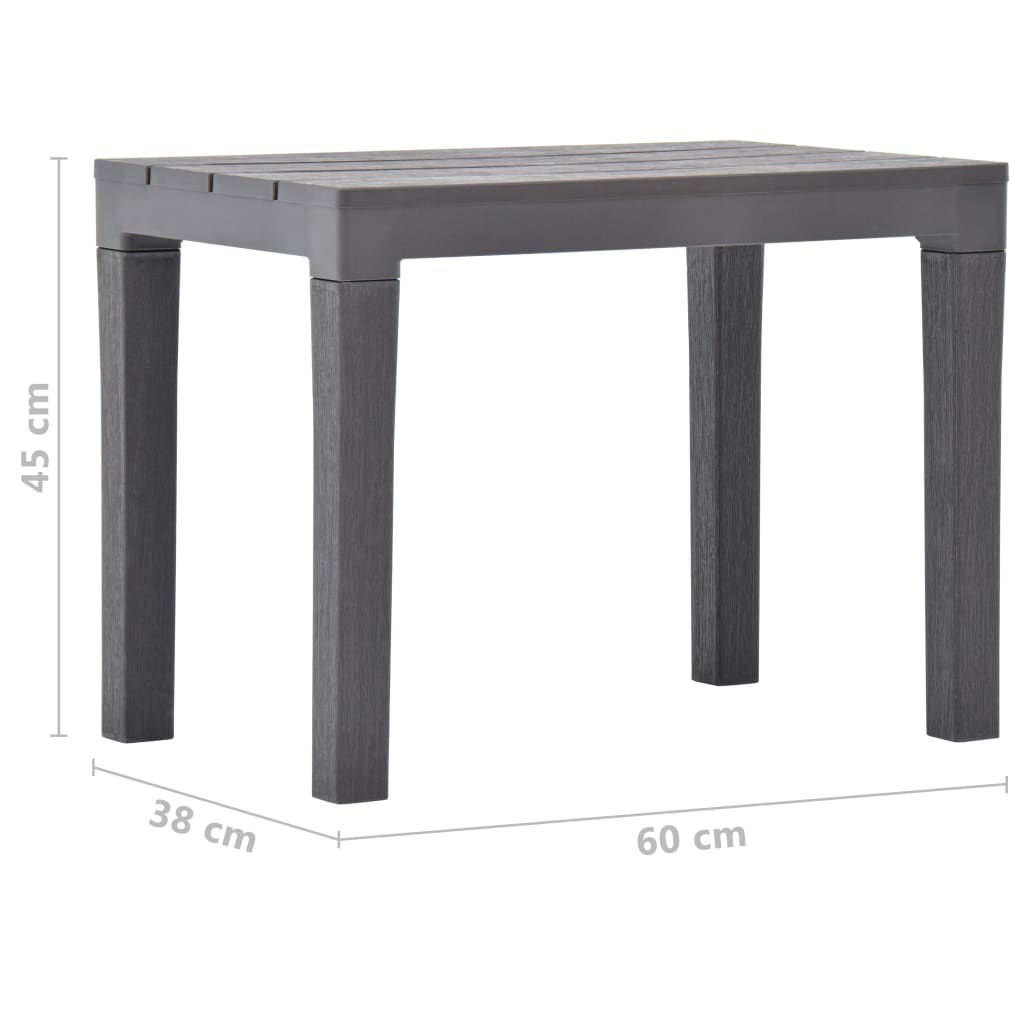 Picture of Outdoor Plastic Table with 2 Benches