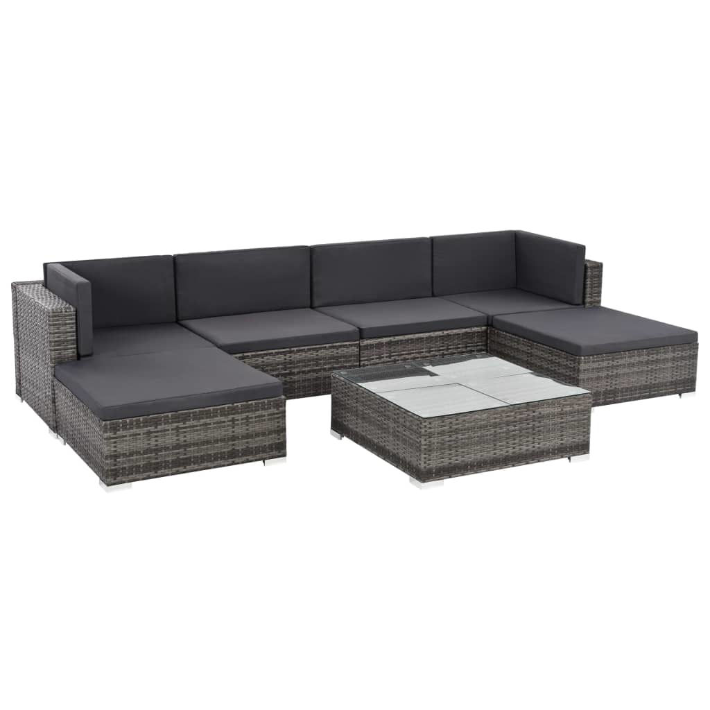 Picture of Patio Lounge Set - Gray