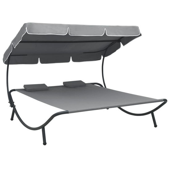 Picture of Outdoor SunBed - Gray