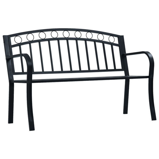 Picture of Outdoor Bench - Black