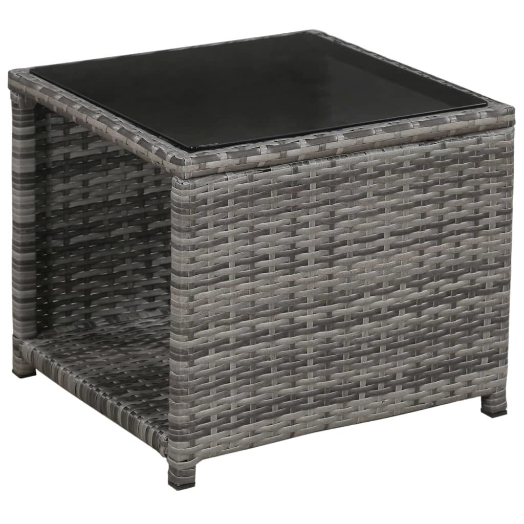 Picture of Outdoor Bistro Set - Gray