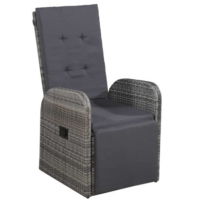 Picture of Outdoor Reclining Chair - Gray