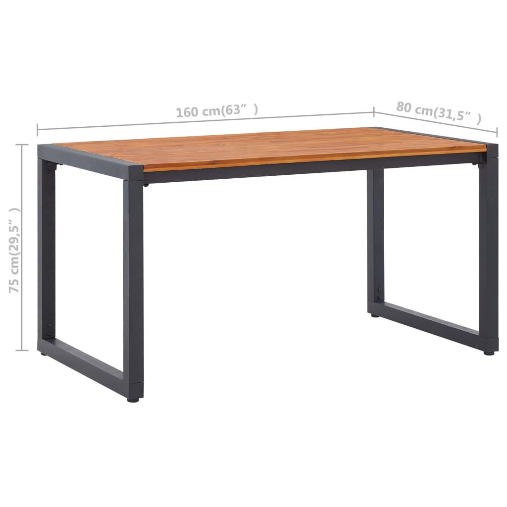 """Picture of Patio Table - 63"""""""