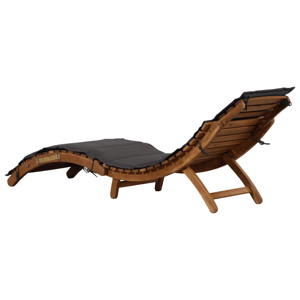 Picture of Outdoor Lounger - Dark Gray