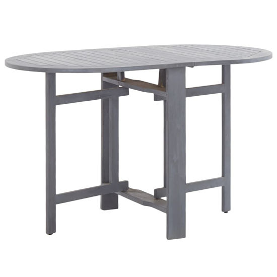 "Picture of Outdoor Folding Table 47"" - Gray"
